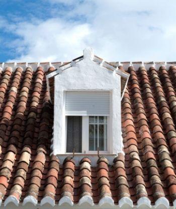 Abbaino sul tetto