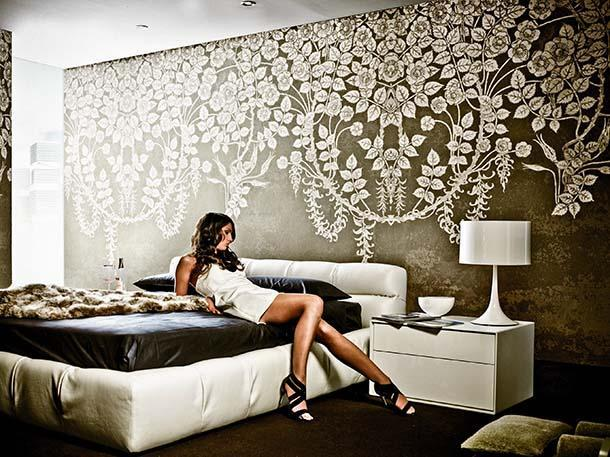 carta da parati floreale(Wall&Decor)