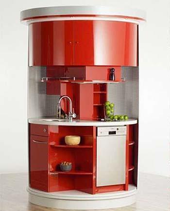 cucina Circle (di Compact Concept)