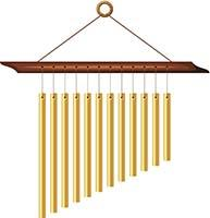Campanelle a vento ispirate allo stile orientale.