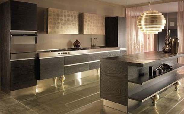 tra le aziende che realizzano modelli di cucine glamour segnaliamo must con la composizione unyca un perfetto connubio tra rigoroso design contemporaneo