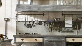 Cucine dal design industriale in stile Loft americano