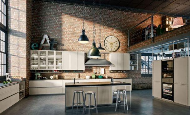 Cucine dal look industriale for Look industriale per case