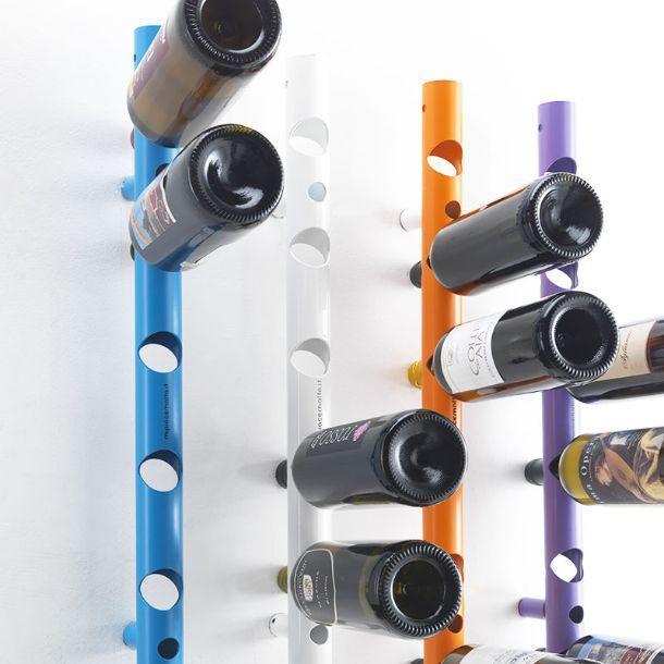 Portabottiglie di design - Portabottiglie a muro ...