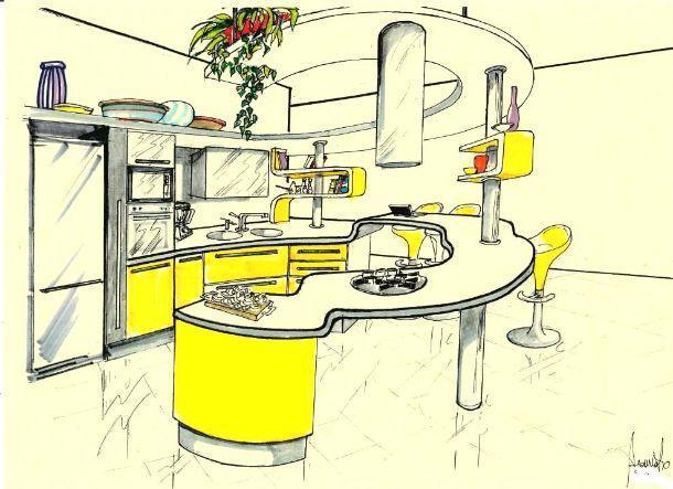 Come disegnare una cucina componibile una cucina ikea - Disegnare cucina ikea ...