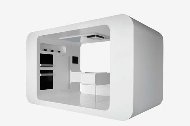 cucina futuristica (di Gorenje)