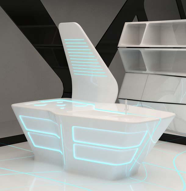 cucina futuristica Tron(di Ernestomeda)