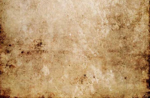 Macchie di ruggine sul cemento