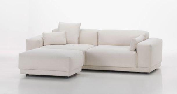 total white sofa vitra