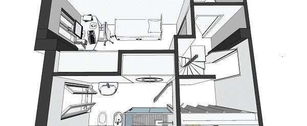 Zona notte: nuovo progetto interni