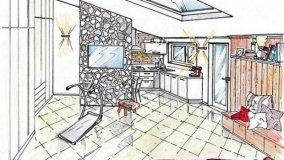Mansarda: come progettare uno spazio polivalente in 30 mq