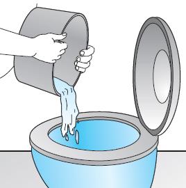 Acido muriatico water intasato boiserie in ceramica per - Metodi per andare in bagno ...