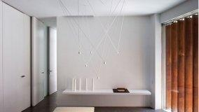 Sculture illuminanti a soffitto