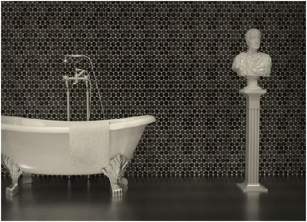 mosaico in resina di Migliorino