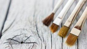 Cura e pulizia dei pennelli