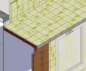 Cucina In Muratura Realizzazione ~ Home Design e Ispirazione Mobili