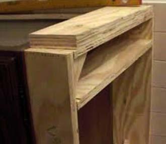Costruire cucine in muratura sicure e durevoli - Struttura cucina in muratura ...