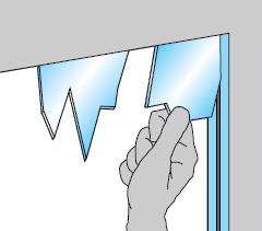 sicurezza in casa vetri rotti