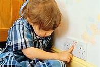 sicurezza in casa con bambino