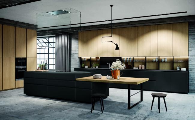 Cucina moderna su misura di Ingrosso mobili