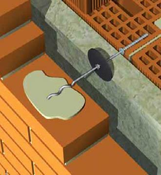 Particolare graffa in acciaio (Tecnologia Arch.Piferi)