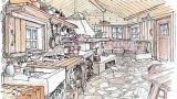 Cucina rustica: idea di progetto