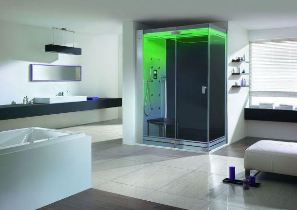 La cabina doccia multifunzione - Cabine doccia in muratura ...
