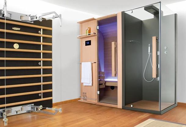 La cabina doccia multifunzione - Bagno turco in muratura ...