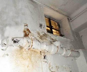 Perdita impianto fognario vetusto