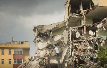 effetti del terremoto su case