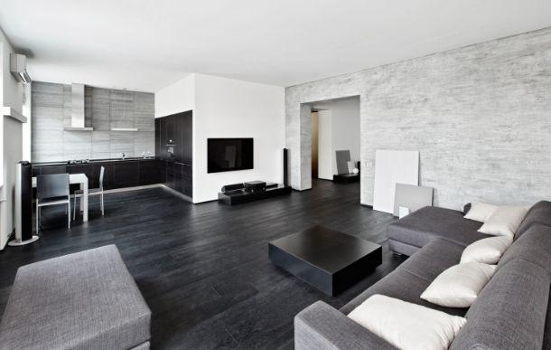 Arredo in bianco e nero for Arredamento casa bianco