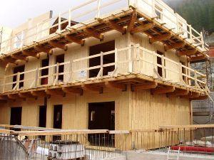 casa in legno xlam