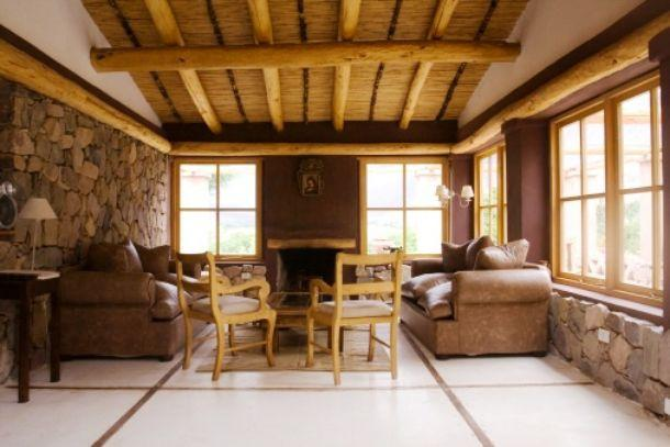 Salone di casa rurale