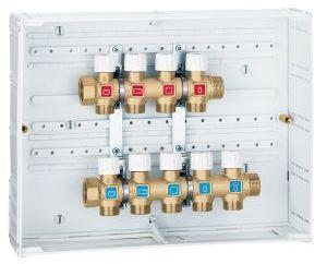 Impianto idrico a collettori - Collettore idrico sanitario caleffi ...