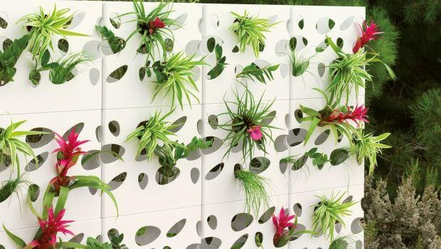 Muri e divisori fioriti for Divisori giardino