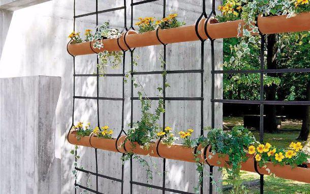 Muri e divisori fioriti for Divisori da giardino