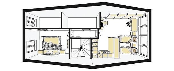 Armadio e cabina armadio nella stessa camera: sfruttare la nicchia per la cabina