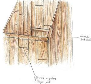 Cucine moderne in legno: Old Line