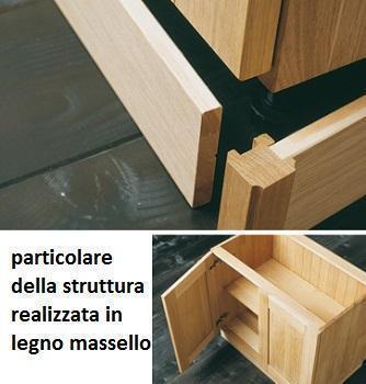 Cucine moderne in legno: Old Line particolare