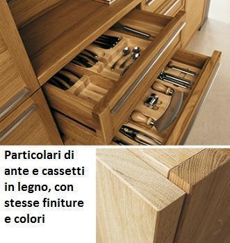 Cucine moderne in legno: Old Line, particolare