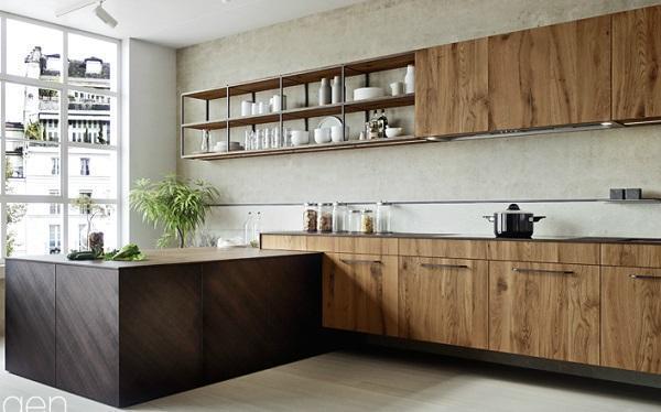 Cucine moderne in legno - Cucine legno massello ...