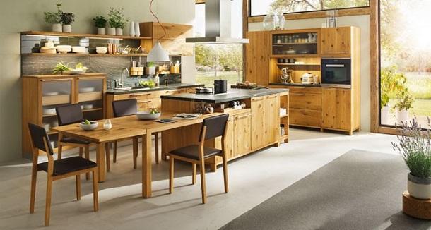 Cucine moderne in legno: Team 7, Loft