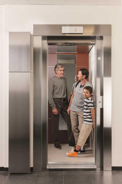 Sostituzione ascensore: KONE NanoSpace™