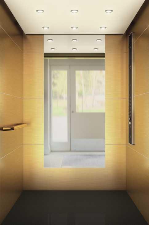 Sostituzione ascensore: KONE