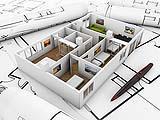 Gli elaborati standard di un progetto architettonico: tavole grafiche e modello tridimensionale.
