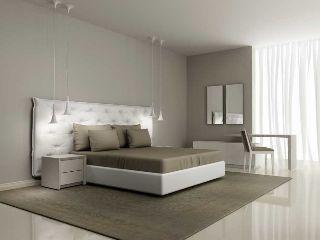 Camera da letto pastello