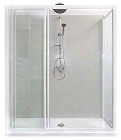 Trasformare vasca in doccia for Camminare attraverso la doccia alla vasca