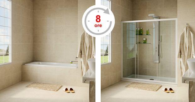 Come trasformare una vasca in doccia