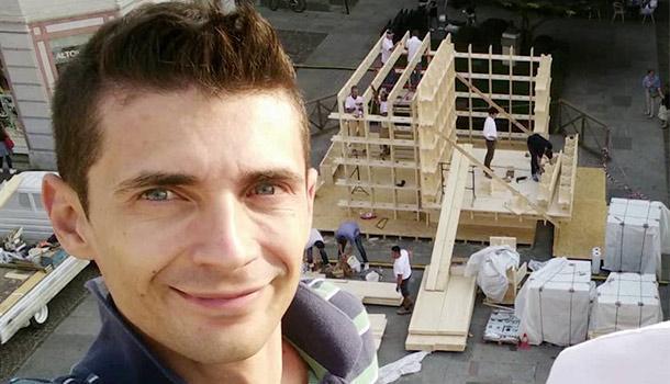 Cristian Fracassi e Brick il mattone polimerico
