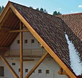 tetti ad elevata pendenza di Wierer
